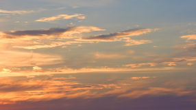 Cielo 1 de la tarde fotografía de archivo