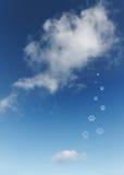 Cielo. Foto de archivo libre de regalías
