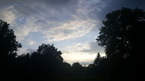 Cielo Foto de archivo libre de regalías