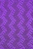 A cielo abierto hecha punto púrpura Fotografía de archivo libre de regalías