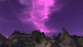 Cielo abstracto Fotos de archivo