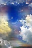 Cielo abstracto fotografía de archivo