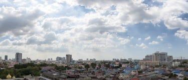 Cielo agradable y nube clara fotografía de archivo libre de regalías