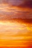 Cielo ai precedenti di alba fotografie stock libere da diritti
