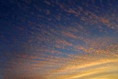 Cielo al crepuscolo Immagini Stock Libere da Diritti