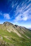 Cielo alpestre y azul imagen de archivo libre de regalías