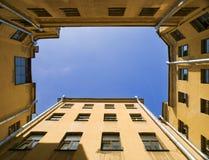 Cielo ante el tribunal Fotos de archivo