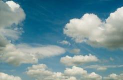 Cielo azul fotos de archivo libres de regalías
