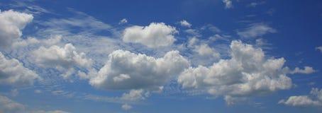 Cielo azul Foto de archivo libre de regalías