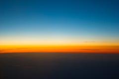 Cielo azul. Foto de archivo libre de regalías