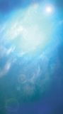 Cielo azul Foto de archivo