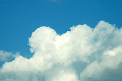 Cielo azul Fotografía de archivo libre de regalías