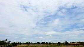 Cielo azul Ilustración del Vector