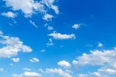 Cielo azul Imagen de archivo