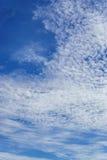 Cielo azul Fotografía de archivo