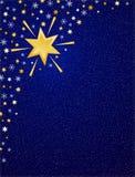 Cielo azul B del invierno Imágenes de archivo libres de regalías