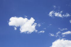 Cielo azul claro foto de archivo