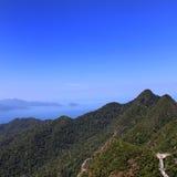 Estera Cincang, isla del soporte de Langkawi Imagen de archivo libre de regalías