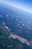 Cielo azul con brillantemente la atmósfera Fotos de archivo