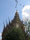 Cielo azul de la pagoda Imagen de archivo libre de regalías