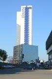 Cielo azul de Moscú Rusia del hotel de Vega Foto de archivo