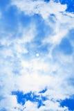 Cielo azul de Sun fotos de archivo