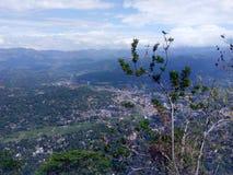 Cielo azul del ambuluvava natural de la belleza fotografía de archivo libre de regalías
