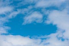 Cielo azul en cárpato fotos de archivo libres de regalías