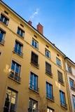 Cielo azul en ventanas Fotografía de archivo libre de regalías