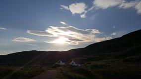Cielo azul harris Imagenes de archivo