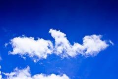 Cielo azul hermoso Imagen de archivo libre de regalías