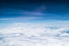 Cielo azul hermoso Fotografía de archivo