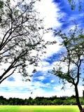 Cielo azul hermoso imágenes de archivo libres de regalías