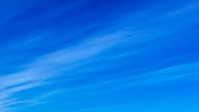 Cielo azul - nubes fotografía de archivo libre de regalías