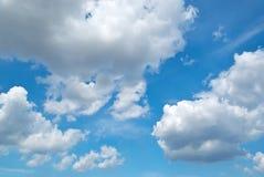 Cielo azul profundo fotografía de archivo