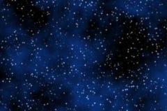 Cielo azul soñador Foto de archivo