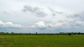 Cielo azul y nubes Foto de archivo