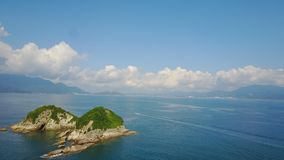 cielo azulverde del mar imágenes de archivo libres de regalías