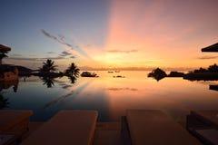 Cielo bicolor Foto de archivo libre de regalías