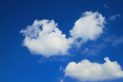 Cielo blu Immagini Stock