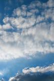 Cielo blu Fotografie Stock Libere da Diritti