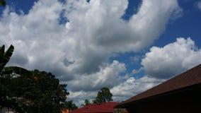 Cielo blu Fotografia Stock