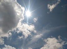 Cielo blu Fotografie Stock