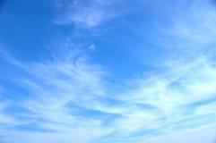 Cielo blu 585 Fotografie Stock