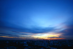 Cielo blu Immagine Stock Libera da Diritti