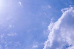 Cielo blu Immagine Stock