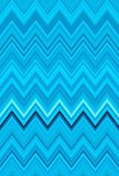 Cielo blu, acquamarina, blu-verde, verde mare, turchese Fondo di astrattismo del modello di zigzag di Chevron Fotografia Stock Libera da Diritti