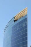 Cielo blu blu della costruzione fotografia stock