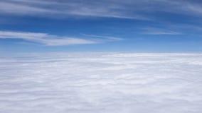 Cielo blu con il fondo della nuvola Immagini Stock Libere da Diritti