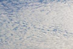 Cielo blu con la nube Fotografia Stock